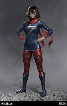 Marvel Avengers, Marvel Comics, Ms Marvel, Brandon Russell, Wonder Woman, Superhero, Artwork, Fictional Characters, Outfits
