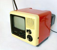 1960's Black and White Catalina TV
