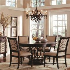 Round Wooden Tables On Pinterest Round Dining Tables Wood Dining Tables And Round Tables