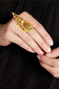Yunus & Eliza | Empire gold-plated ring