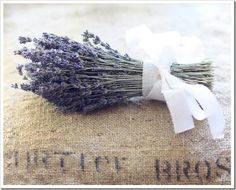 Cleaning Tip Tuesday: Rosemary Lavender Wax Melts - Lemons, Lavender, &… Lavender Cottage, French Lavender, Lavender Blue, Lavender Fields, Dried Lavender Flowers, Growing Lavender, Lavender Bouquet, Purple Wedding Decorations, Bunch Of Flowers