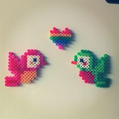 Birds perler beads by 3_is_a_party