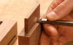 The Secret to Perfect Mortise and Tenons