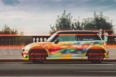 MINI Check Points Art Cars