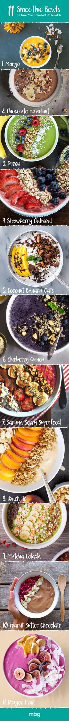 These smoothie bowls can completely transform your morning!