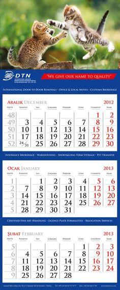 DTN International Movers - Calendar #dtn #animals #calendar #2013