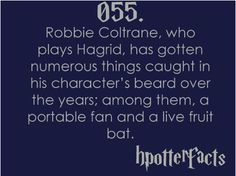 Harry Potter Fact #55 hahaha, I could see this happening....