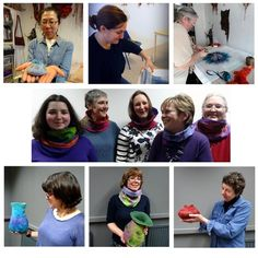 Felt making workshop - Heather Potten - Edinburgh