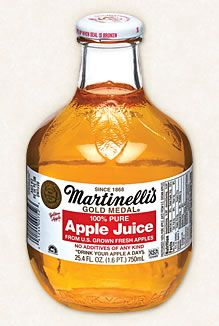 Martinelli's Gold Medal Apple Juice - A made in the USA classic.