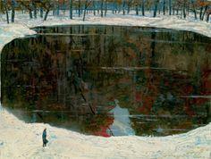 The lake of tears, Ilya S. Glazunov. Russian, born in 1930