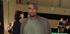 Kanye West is so fashion. He's shoulder robing now.  -Cosmopolitan.co.uk