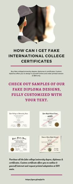 get fake certificates  diplomas  u0026 transcripts with real