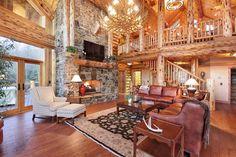 Log Homes Photo Galley Cabin Bureau Samantha Panzera Living Room Ideas