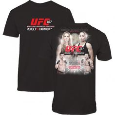 UFC 157 ROUSEY VS. CARMOUCHE EVENT T-SHIRT