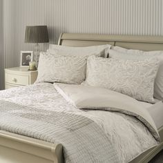 Find sophisticated detail in every Laura Ashley collection - home furnishings, children's room decor, and women, girls & men's fashion. Childrens Room Decor, Home Furnishings, Duvet Covers, Interiors, Bed, Silver, Furniture, Home Decor, Homemade Home Decor