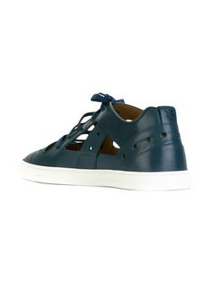 Fendi cut-out panel sneakers