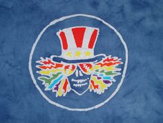 Custom Psychedelic Uncle Sam The Grateful Dead by AppleJaxie, $26.00