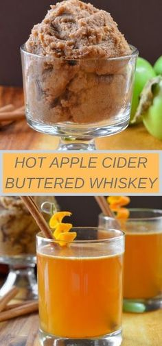 Hot Apple Cider Buttered Whisky is the perfect cocktail for Thanksgiving and Christmas entertaining. A holiday favorite cocktail recipe from Serena Bakes Simply From Scratch. Drinks Alcohol Recipes, Yummy Drinks, Cocktail Recipes, Alcoholic Drinks, Drink Recipes, Yummy Recipes, Apple Cider Whiskey, Hot Apple Cider, Hot Butter