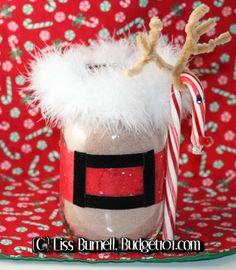 Santa's Magical Cocoa Mix in a Jar Gift Idea