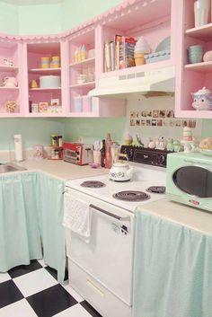 25 Idees Pour Mettre Un Peu De Rose Dans Nos Vies Pastel DecorPastel Kitchen