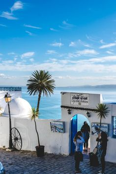 Sidi Bou Said: Tunisias Santorini http://ift.tt/2GpV8Oq