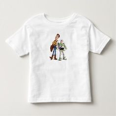 Toy Story 3 - Buzz & Woody Toddler T-shirt - click/tap to personalize and buy