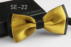 Man Formal commercial bow tie male double color marriage bow ties for men candy color butterfly cravat bowtie butterflies
