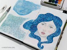 Kako (i zašto) voditi vizualni dnevnik? Sketchbook Pages, Sketchbooks, Creative, Art, Projects, Kunst, Sketch Books, Visual Diary, Art Sketchbook