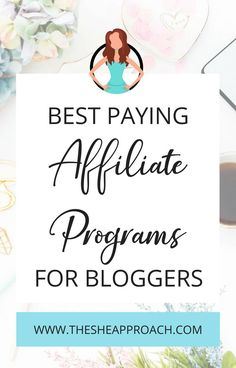 Looking for affiliate programs and affiliate networks to join so you can make more money blogging? Click on the link in this pin to find out what are the top 5 best paid affiliate programs for bloggers! #affiliateprograms #affiliatemarketing #affiliatemarketingtips #makemoneyblogging #makemoneyonline