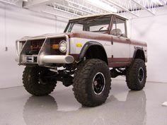 Classic ford bronco half cab