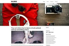 Blogg Responsive WordPress Theme. WordPress Blog Themes. $39.00
