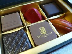 The Ritz Carlton Tokyo chocolates