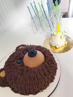 Teddy Bear has a Birthday! Teddy Bear has a Birthday! Teddy Bear Birthday Cake, Teddy Bear Cakes, Picnic Birthday, Camping Birthday Cake, 2nd Birthday, Bear Cupcakes, Teddy Bear Baby Shower, Cake Shapes, Bear Party