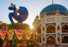 Best Tokyo DisneySea Attractions & Ride Guide - Disney Tourist Blog Caravan carousel