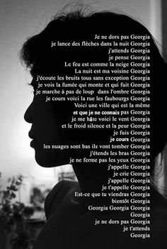 """Georgia,"" by Philippe Soupault. Philippe Soupault, Georgia, Poems, Silhouette, Quotes, Inspiration, Waiting For You, Livres, Quotations"