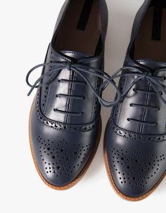 At Stradivarius you'll find 1 Punched brogues for woman for just RSD3,790.00. Visit now to discover this and more ALL .