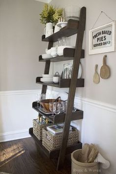 Early-Fall-Rustic-and-Woven-Ladder-Shelf