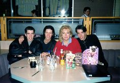 #TBT My awkwardly puffy jacket, @MrJDScott's flowing locks and @MrSilverScott's gold chain. Oh the good old days:)