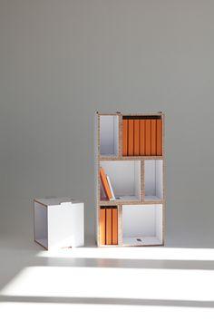 imm cologne 'Kasaa & Kenno' cardboard furniture by Showroom Finland (FI) Cardboard Chair, Cardboard Design, Cardboard Paper, Cardboard Boxes, Furniture Showroom, Furniture Projects, Kids Furniture, Furniture Design, Blog Design Inspiration