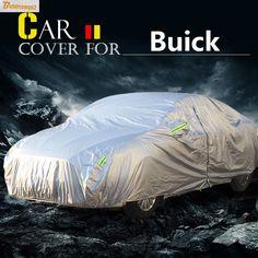 Buildreamen2 Car Cover Sun Anti-UV Rain Snow Resistant Cover Waterproof For Buick LeSabre Skylark Encore LaCrosse Royaum Excelle