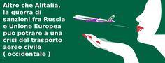 Putin chiude lo spazio aereo alle compagnie occidentali