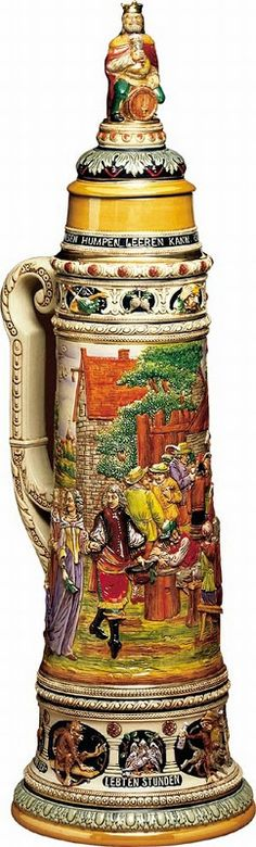 Traditional Drinking  Steins | World's Largest Beer Stein (on sale)