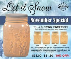 """""""Let It Snow"""" ~ Sure to be a SELL OUT!!!! ORDER ONLINE ~ SHIPS DIRECT https://spollreisz.scentsy.us"""