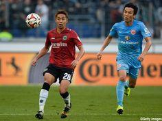Hiroshi Kiyotake - Hannover 96 - MF Makoto Hasebe - Eintracht Frankfurt - MF