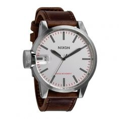 Montre analogique CHRONICLE silver/brown