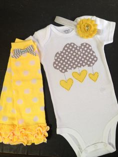 You Are My Sunshine bodysuit leg warmers by PaisleyPrintsSpokane, $38.95