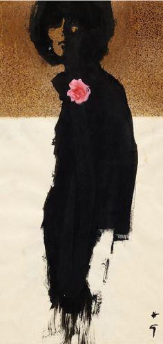 Illustration by René Gruau, 1961 ~ Cover for International Textiles Art And Illustration, Rene Gruau, Jacques Fath, Elsa Schiaparelli, Neue Outfits, Pierre Balmain, Fashion Sketches, Fashion Illustrations, Marie Claire