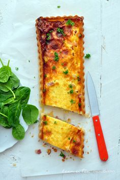 Quiche Lorraine - never thought to try it in a log