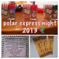 Polar express night. Golden tickets hidden under their pillows. popcorn, hot cocoa, and off to look christmas lights. Complete with a lights scavenger hunt to keep those little eyes busy!