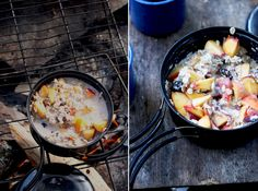 Enjoyable camp cooking recipes are a specifically excellent activity for family camp outs. On a family camping trip, fun camp cooking recipes can be attempted at the end of a day while you are delighting in the campfire. Camping Desserts, Vegetarian Camping Recipes, Camping Meals, Cooking Recipes, Healthy Recipes, Camping Cooking, Camping Dishes, Healthy Meals, Family Camping